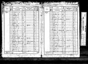 Levi and John Kinsman 1841