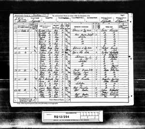 1891 census Rosa Alice Freak