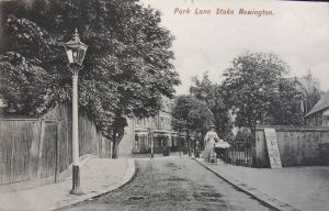 PARK-LANE-STOKE-NEWINGTON-LONDON-1905-CHARLES-MARTIN