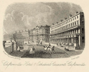 Cliftonville Hotel and Ethelbert Crescent 1872