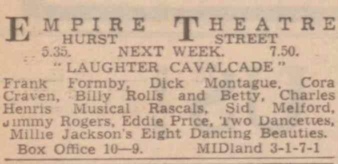 3rd, 5th, 8th and 9th February 1940 - Sports Argus - Birmingham