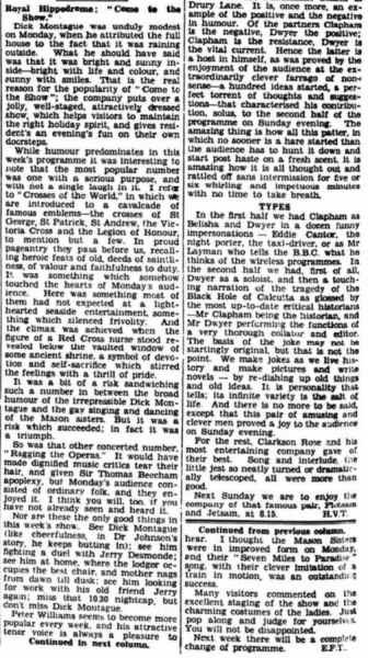 14 August 1935 - Eastbourne Gazette - Eastbourne, Sussex, England