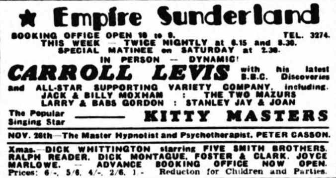 19 November 1951 - Sunderland Daily Echo