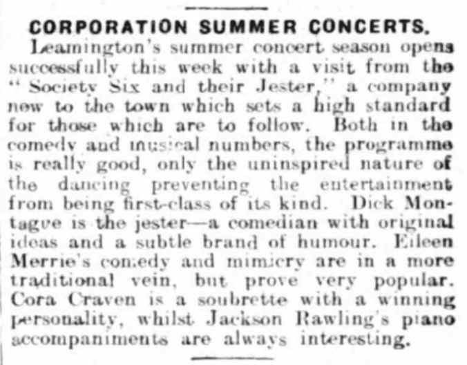 20 May 1932 - Leamington Spa Courier - Leamington