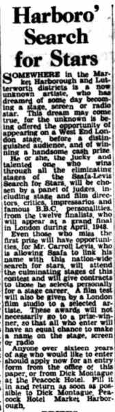 24 October 1947 - Market Harborough Advertiser