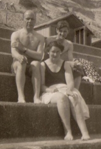 Reg Willats, Eileen O'Connor and George Townsend