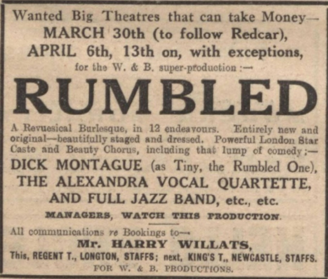 The Stage Newspaper - 26 Feb 1923