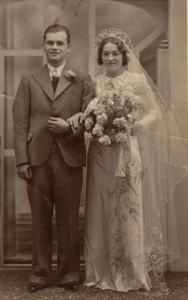 Norah O'Connor with John Cooper